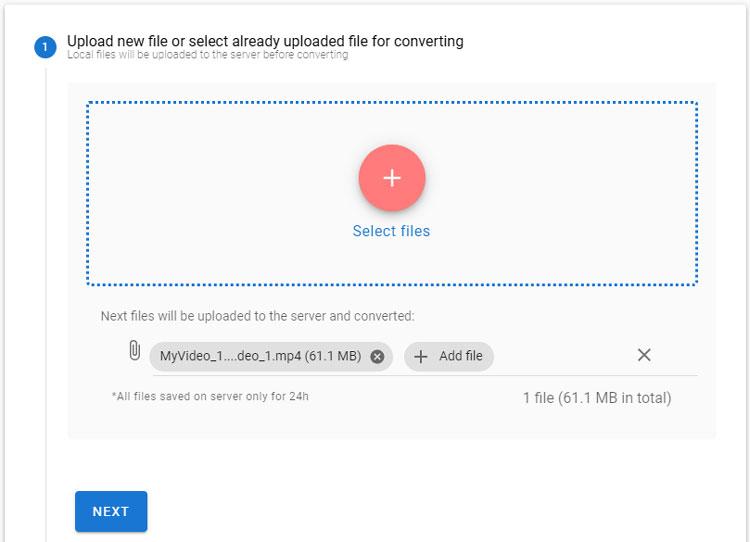 add a video to HDconvert.com