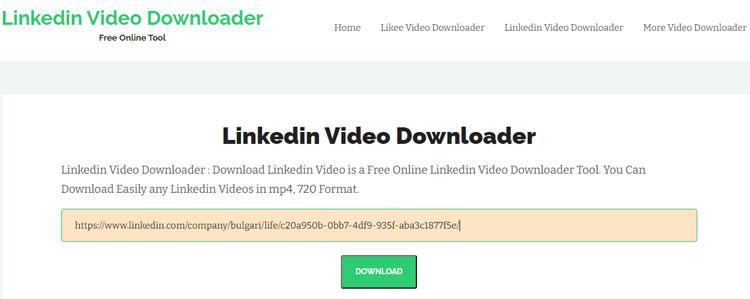 LinkedIn Video Downloader