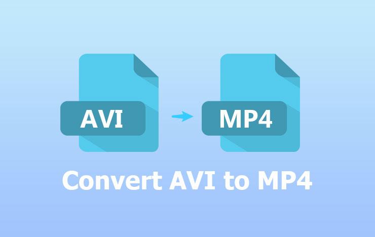 convert AVI to MP4