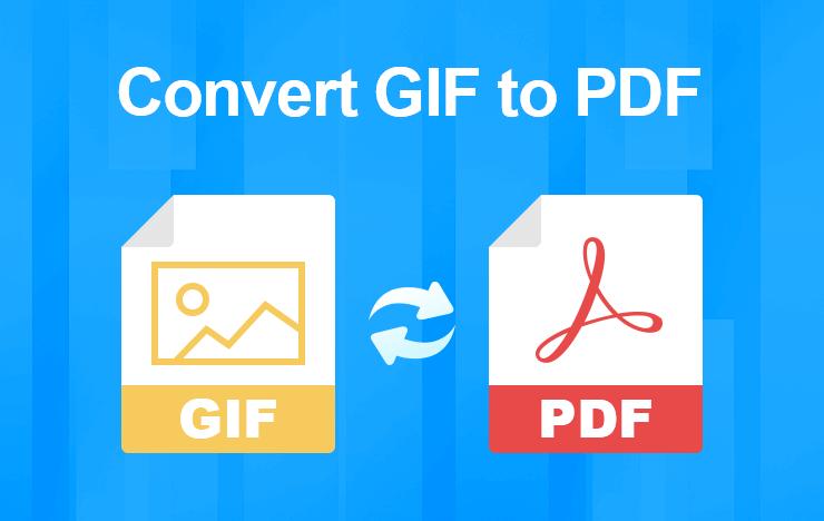 Convert GIF to PDF