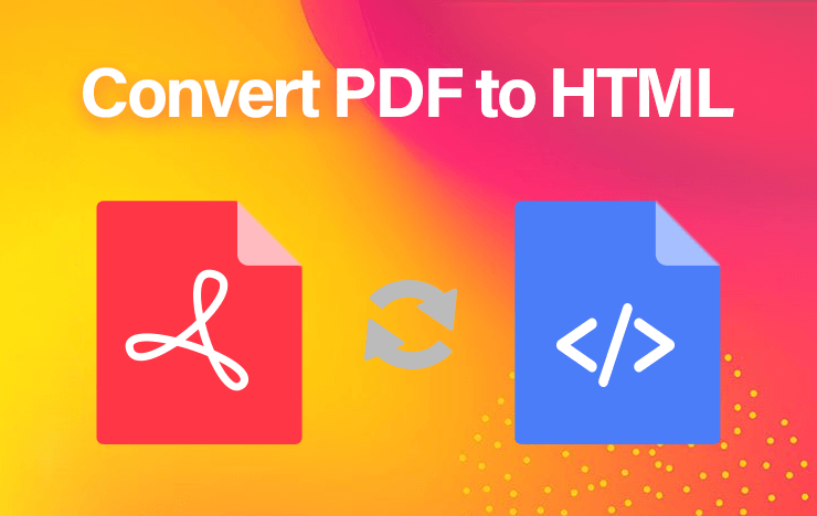 convert PDF to HTML