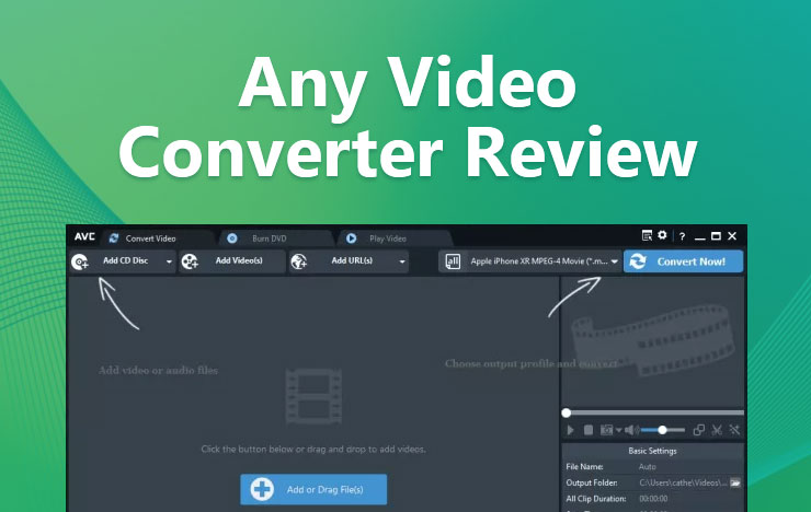Any Video Converter Review