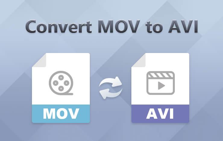 Convert MOV to AVI