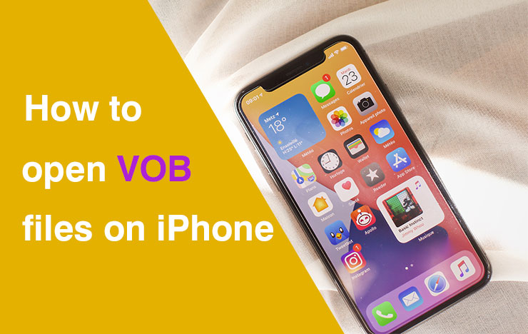 play VOB files on iPhone