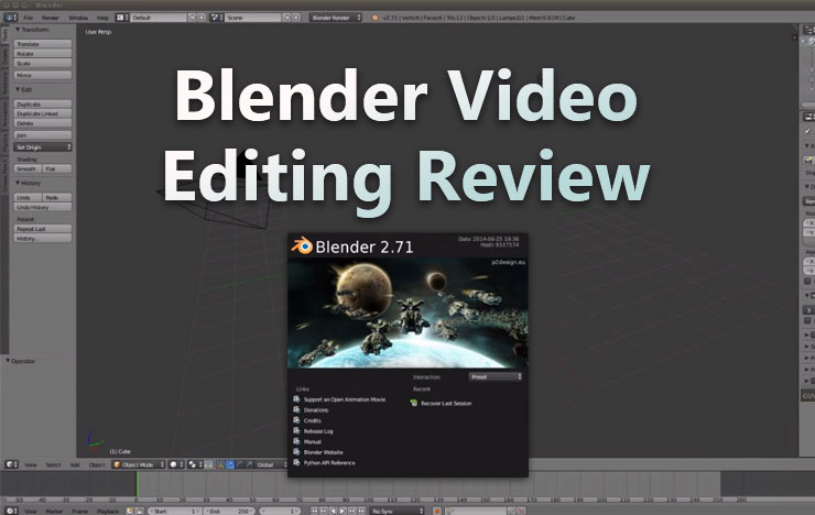 Blender video editing review