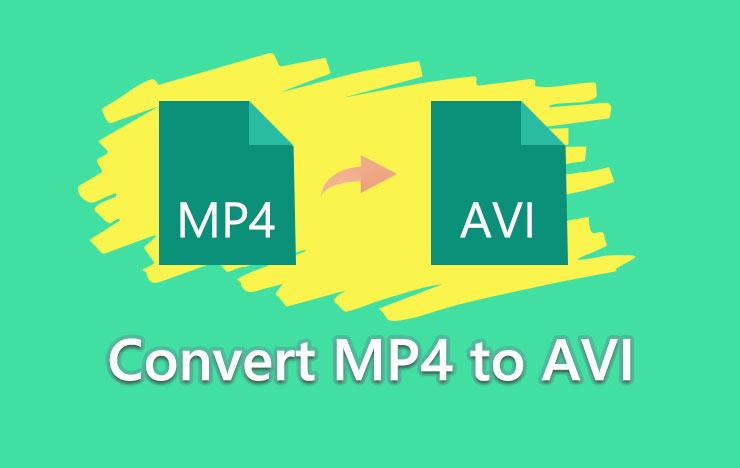convert MP4 to AVI